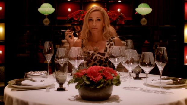 Quitting movies .. Kristin Scott Thomas in <i>Only God Forgives</i>.