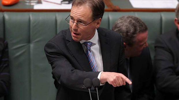 Carbon tax gaffe: Greg Hunt's office swiftly amended the offending press release.