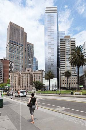 The new tower will be designed by architects Denton Corker Marshall, best known for landmark buildings such as the ...