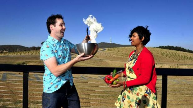 Andrew Hinge and Emelia Vimalasiri will host their own cooking demo here in Canberra in March.