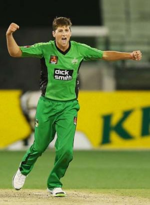 James Muirhead is in contention to be Australia's lead spinner at the World Twenty20 in Bangladesh in March.
