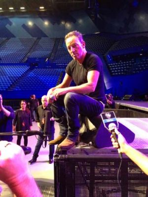 Up close and personal: Bruce Springsteen has said of his upcoming Australian tour that there will still be an element of ...