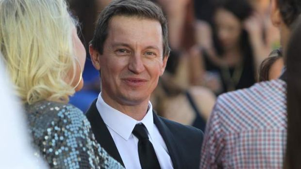 New project ... Rove McManus has his feet firmly planted on Australian soil.