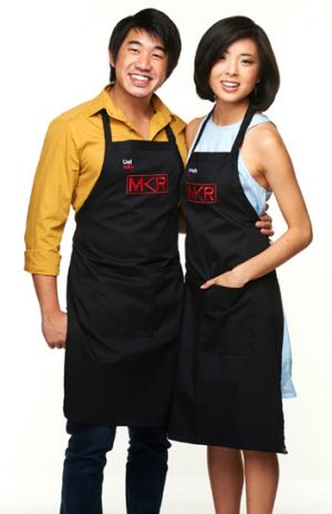 <i>MKR</i> newlyweds: Uel and Shannelle share a sweet tooth.