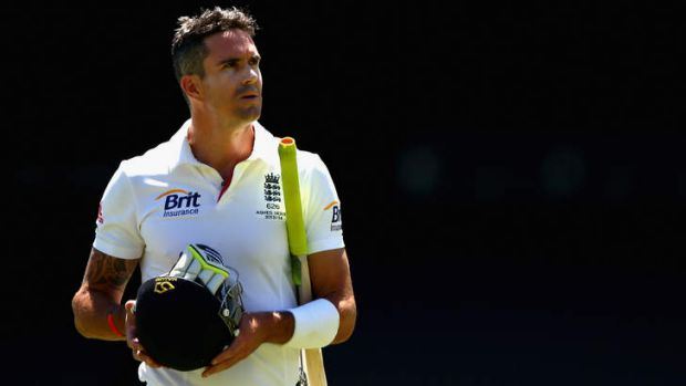 Picking his battles: Kevin Pietersen's timing with the bat was far superior to that of his tongue.