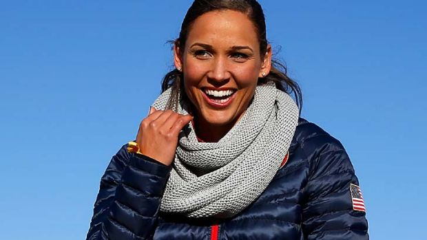 Back in the limelight: athletics star Lolo Jones will compete at the Sochi Games.
