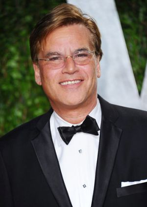 Award-winning screenwriter Aaron Sorkin.