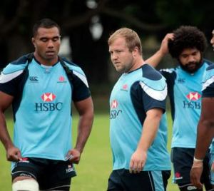 No more excuses: Veterans Wycliff Palu, Benn Robinson and Tatafu Polota-Nau are running out of time for a Super title.