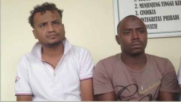 Abdullah Ahmed, left, from Eritrea was on the boat. He did not see the incident because he was on the top deck, but the ...