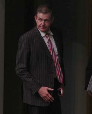 Being sued for alleged unlawful discrimination: Peter Slipper.