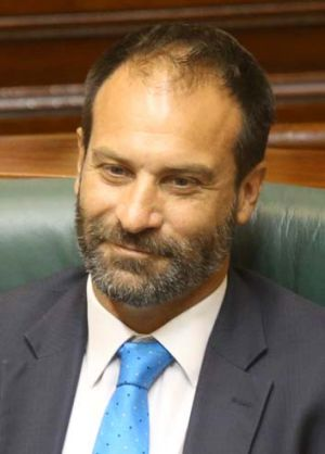Feeling the heat: Geoff Shaw denies pushing for a judicial appointment.