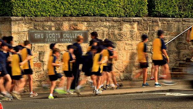 It is understood the Scots College has reached an agreement to resume play with other schools.