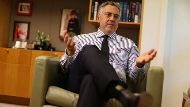 ''Difficult decisions'': Joe Hockey.