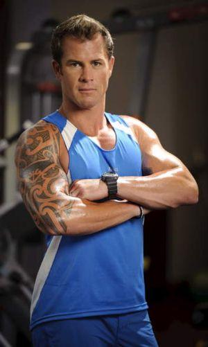 Australia's <i>The Biggest Loser</i> trainer Shannan Ponton.