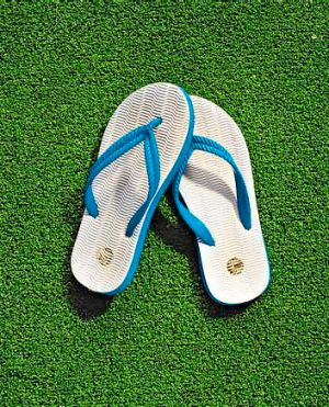 What's in a name: Flip-flops, thongs, jandals, go-aheads, slappies, slides, step-ins - any others?