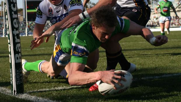 Former Raider David Howell will play in the local rugby league competition with Gungahlin.