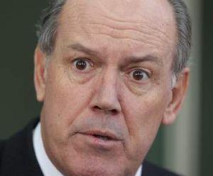 Defence Minister David Johnston.