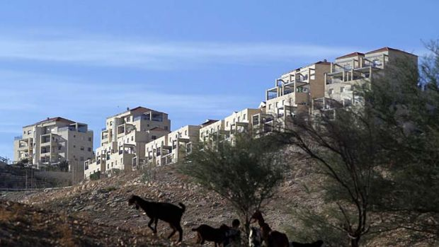 Building blocks: Ma'ale Adumim settlement in the West Bank.