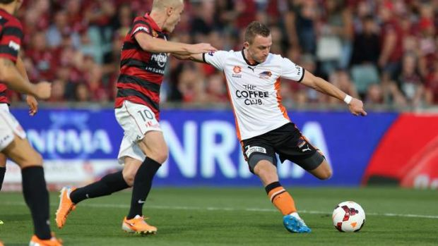 Besart Berisha pulls the trigger for the opener.