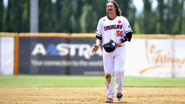 A double from the Cavs' Jack Murphy wasn't enough for Canberra to win game one. <em> File photo: Melissa Adams </em>
