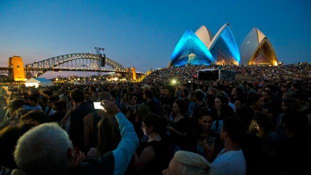 The National at the Sydney Opera House on February 7.