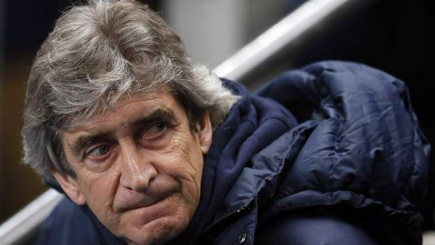Underdogs, what underdogs? Manchester City boss Manuel Pellegrini says Chelsea are still favourites for the premiership.