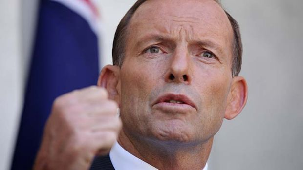 Tony Abbott: setting up a royal commission.