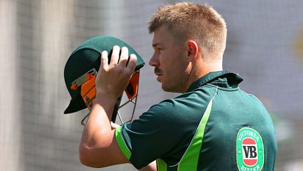 Fine balance: David Warner will respect the Proteas bowlers, but will still punish anything loose and in his zone.