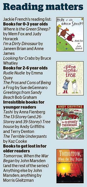Books for children of all ages.