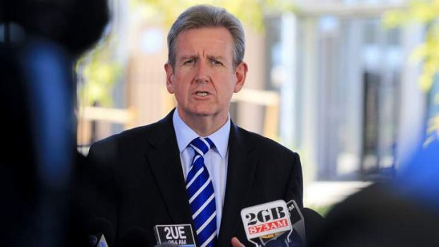 """""""Our commitment not to sell the poles and wires is intact"""": Barry O'Farrell."""