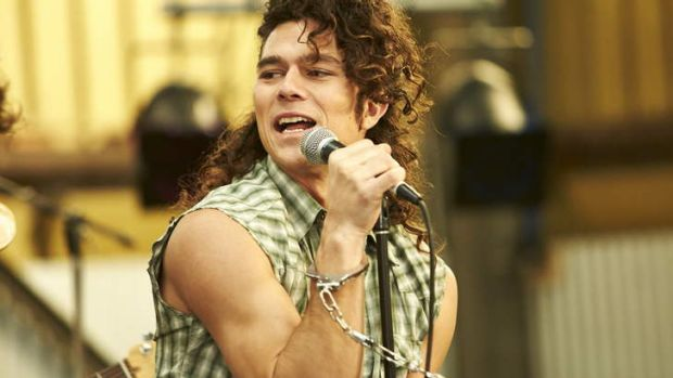 A clear winner ... <i>INXS: Never Tear Us Apart</i> starring Luke Arnold as Michael Hutchence.