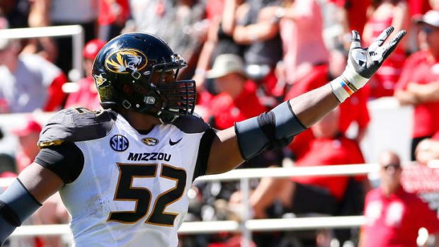 Out and proud: NFL draft prospect Michael Sam has revealed that he is gay.