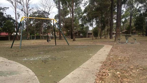 Bill Colbourne Reserve in Blacktown, where a 14-year-old girl was sexually assaulted on Saturday.
