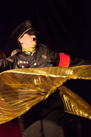 The Die Fringe Burlesk! performance at the Canberra Fringe Festival.