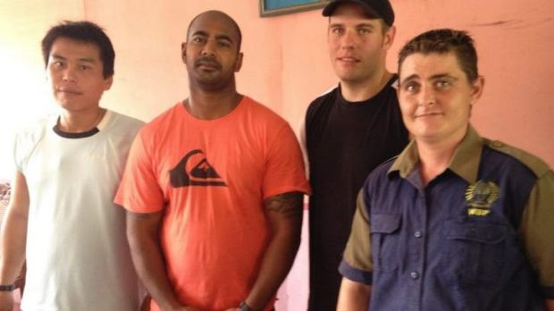 Four members of the Bali Nine. L to R: Si Yi Chen, Myuran Sukumaran, Matthew Norman and Renae Lawrence.