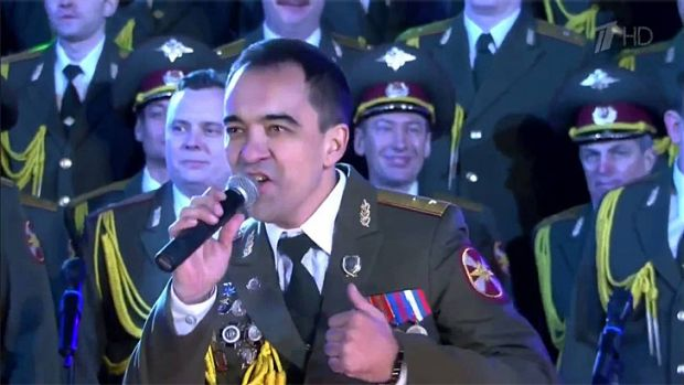 Sochi Olympics ... Red Army Choir's cover of <i>Get Lucky</i> by Daft Punk has been seen by millions.