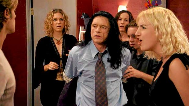 Best of the worst ... Tommy Wiseau stars in <i>The Room</i>.