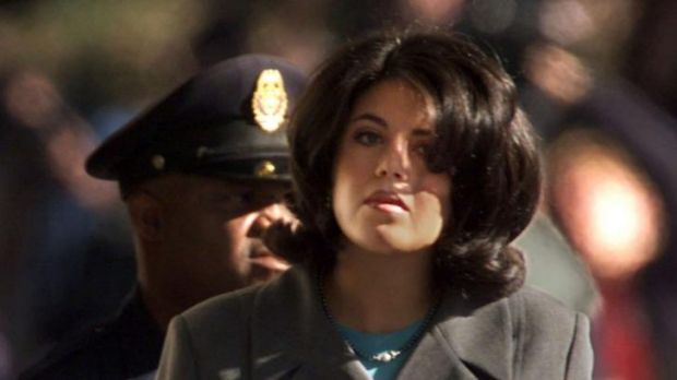 "Former White House intern Monica Lewinsky in 1998. Hillary Clinton called her a ""narcissistic loony toon""."