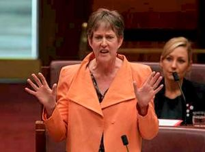 Greens Senator Penny Wright.