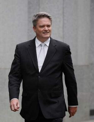 """The government has not made any decisions yet regarding the timing and structure of any sale"": Mathias Cormann."