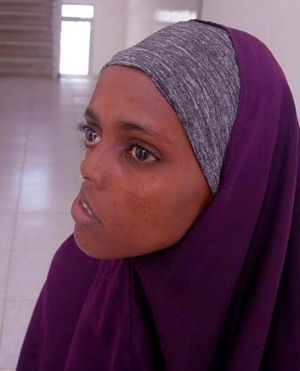 Ayaan Mohamed was shot as a child during Somalia's civil war.