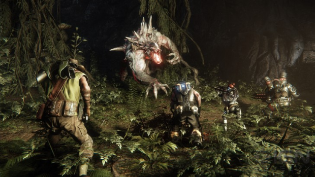 Guess who's coming for dinner? Evolve pits a single giant monster against a team of four humans, with all five ...