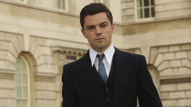 Odd choice: Dominic Cooper as Ian Fleming.