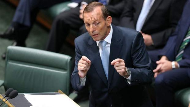Prime Minister Tony Abbott delivered the Closing the Gap report to Parliament.