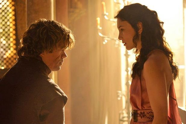 <i>Game of Thrones</i> season 4: Tyrion Lannister and his mistress Shae.