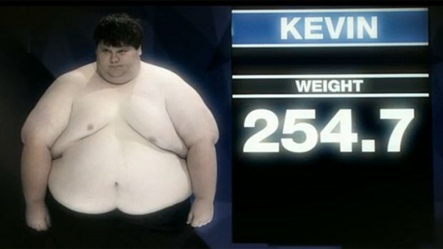 Before: Big Kev earned his name last year when he weighed an enormous 254.7 kilograms.