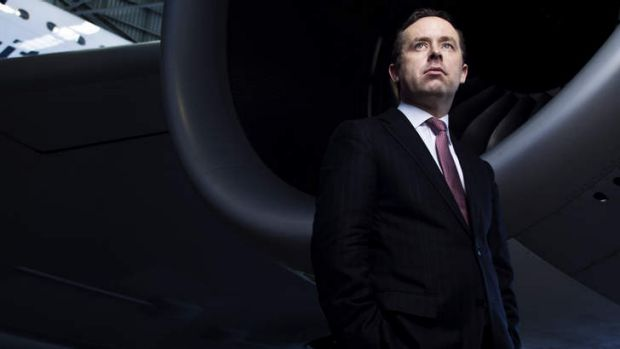 Hard decisions ahead: Qantas CEO Alan Joyce.