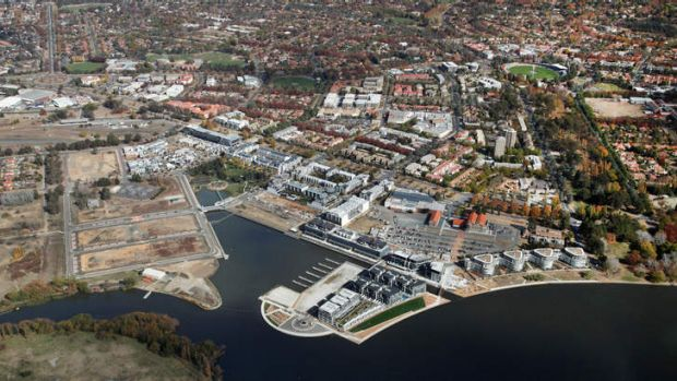 Blocks of land at the Kingston Foreshore failed to sell.