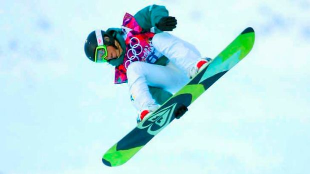 On track: Defending champion Torah Bright of Australia qualfiied for the Snowboard Women's Halfpipe finals.