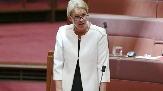 Deputy Leader of The Nationals Senator Fiona Nash at question time on Wednesday.